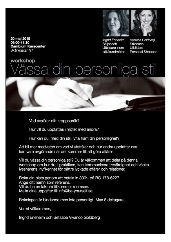personligt varumärke, vässa din personliga stil, strategisk klädsel, stilcoach, stil, stilkonsult, be-yourself.se,